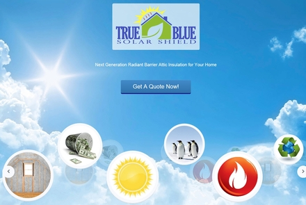 True Blue Solar Shield image